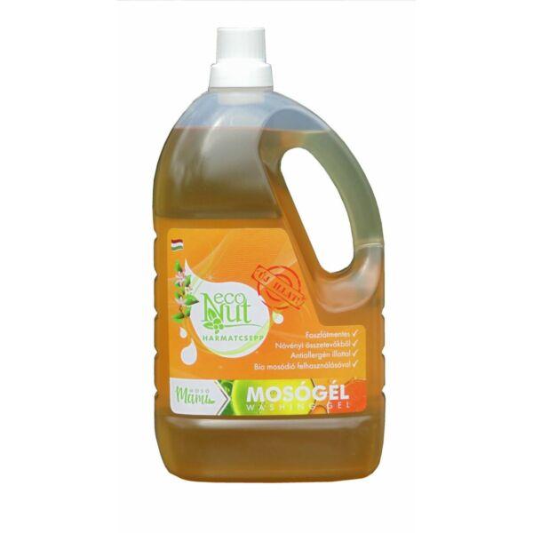 Mosódiós folyékony mosószer harmatcsepp 3 l - Econut