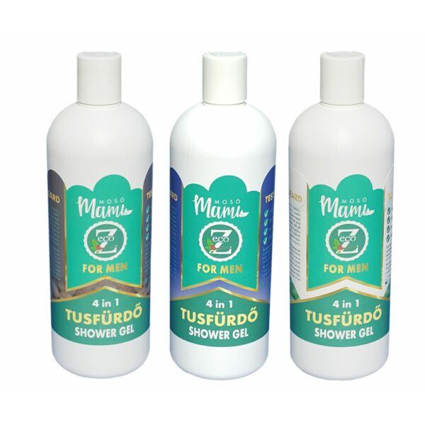 4 in 1 férfi tusfürdő 500 ml - Eco-Z