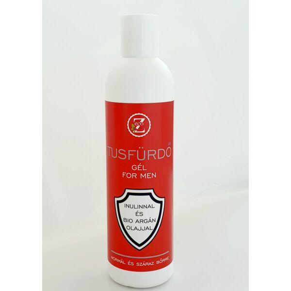 Argán olajos prebiotikus tusfürdő gél férfi 250 ml - Eco-Z
