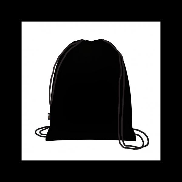 Zsinóros hátizsák Black label - ecozz