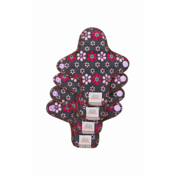 Ella`s House mosható intimbetét 4 db mini virágos