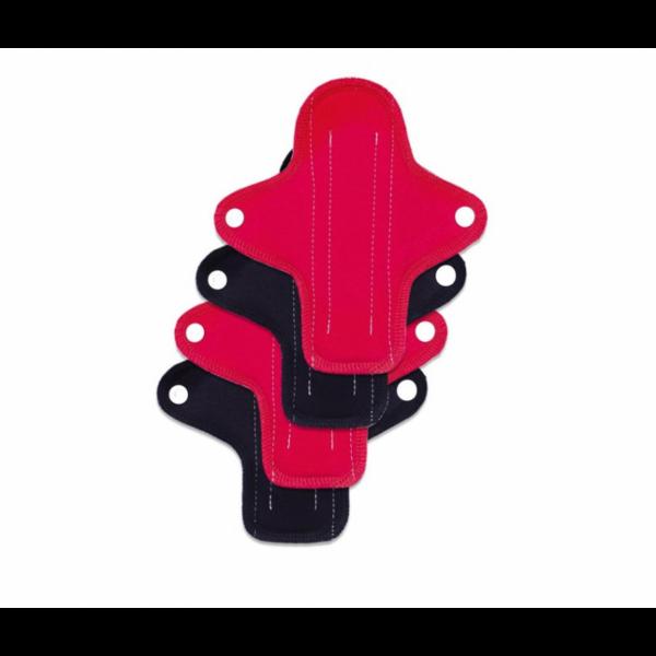 Ella`s House mosható intimbetét 4 db mini piros-fekete