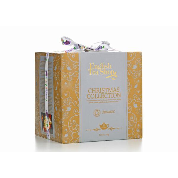 Karácsonyi teaválogatás arany 144 g - English Tea Shop, lejárat:2019/07