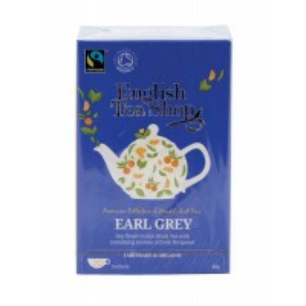 Bio tea earl grey filteres 20*2 g - English Tea Shop
