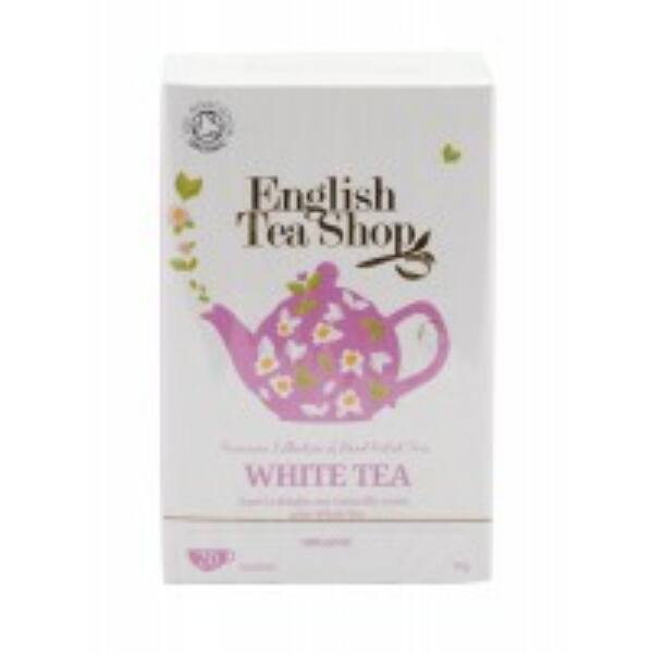 Bio tea fehér filteres 20*2 g - English Tea Shop
