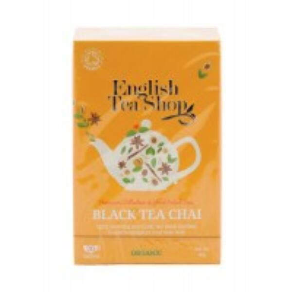 Bio tea fekete chai filteres 20*2 g - English Tea Shop