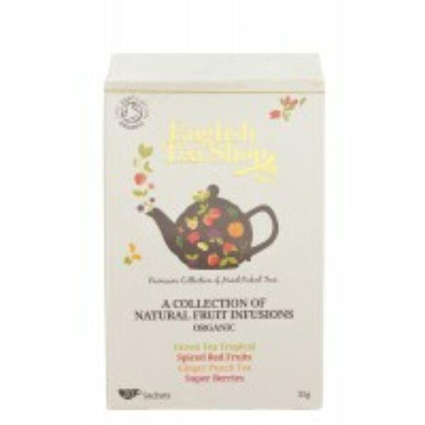 Bio tea gyümölcsvariációk filteres 20*1,5 g - English Tea Shop