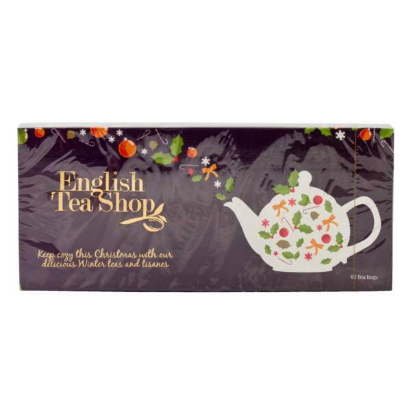 Karácsonyi teaválogatás lila 90 g (60 filter) - English Tea Shop