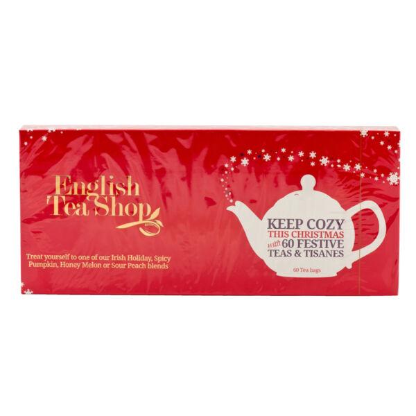 Karácsonyi teaválogatás piros 90 g (60 filter) - English Tea Shop