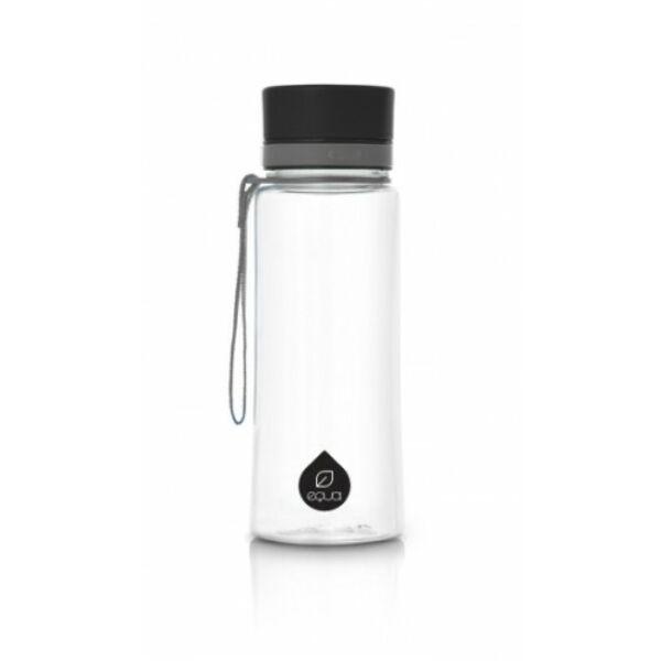 EQUA kulacs sima fekete 600 ml (BPA mentes műanyag)
