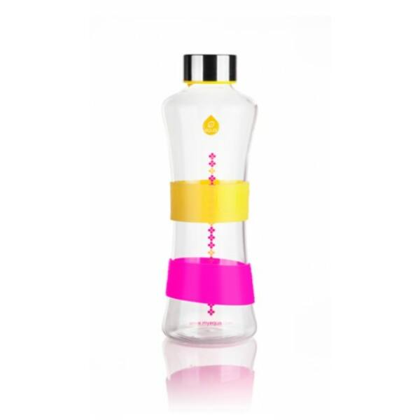EQUA CMYK Squeeze üvegkulacs yellow 550 ml