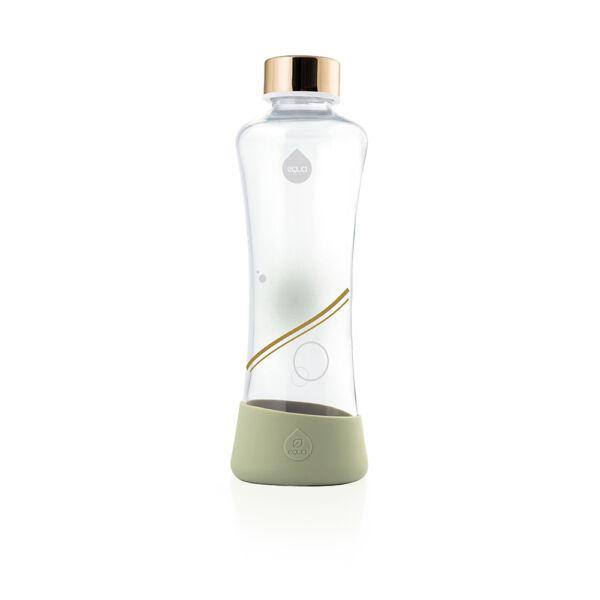 EQUA METALLIC gold üvegkulacs 550 ml