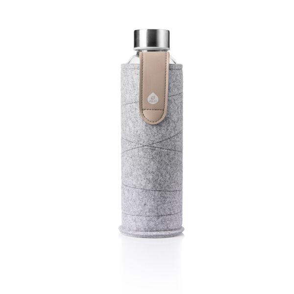 EQUA MISMATCH üvegkulacs filcborítással Sand 750 ml