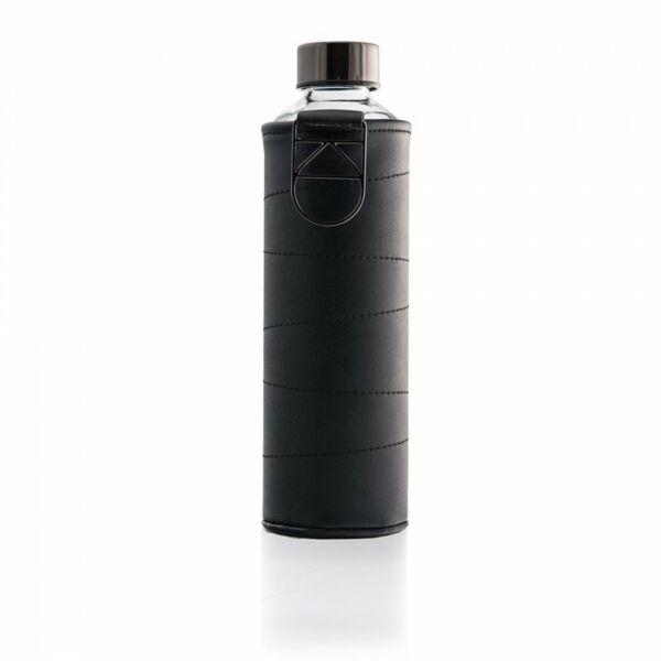 EQUA MISMATCH üvegkulacs műbőr borítással Grafit 750 ml