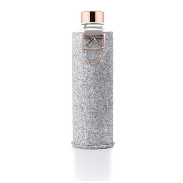 EQUA MISMATCH üvegkulacs filcborítással Rose Gold 750 ml