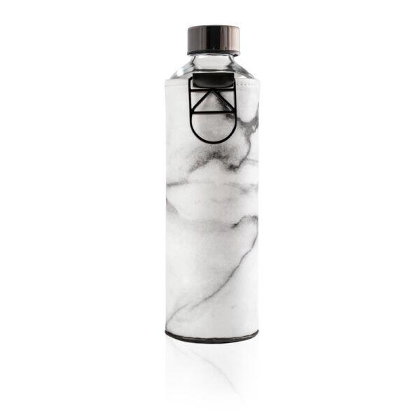 EQUA MISMATCH üvegkulacs mintás műbőr borítással Stone 750 ml