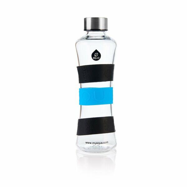 EQUA CMYK Squeeze üvegkulacs key (kék-fekete) 550 ml