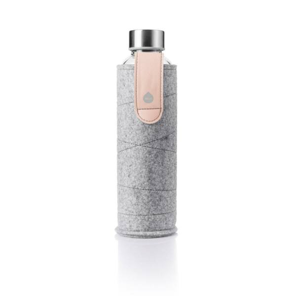 EQUA MISMATCH üvegkulacs filcborítással White 550 ml