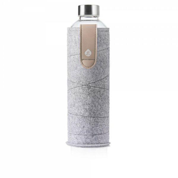 EQUA MISMATCH üvegkulacs filcborítással Sand 550 ml