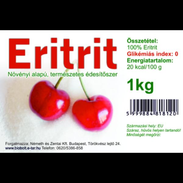 Eritrit 1 kg - Lechner (tasakban)