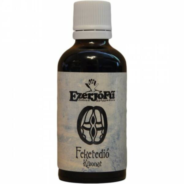 Feketedió sima kivonat (glicerines) 50 ml - Ezerjófű