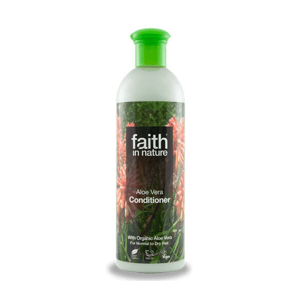 Bio aloe vera hajkondicionáló - Faith in Nature (250ml)