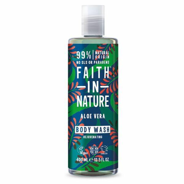 Tusfürdő aloe vera - Faith in Nature (400 ml)