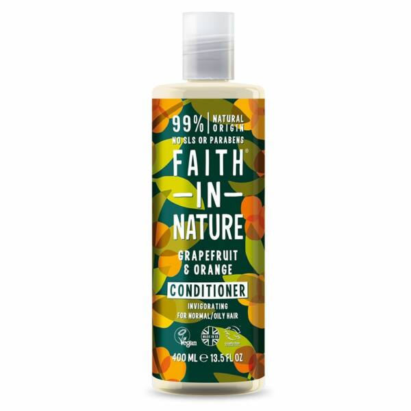 Hajkondicionáló grapefruit és narancs - Faith in Nature (400 ml)