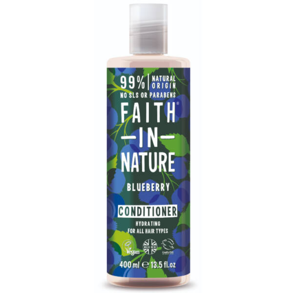 Hajkondicionáló kék áfonya - Faith in Nature (400 ml)