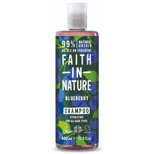 Sampon kék áfonya - Faith in Nature (400 ml)
