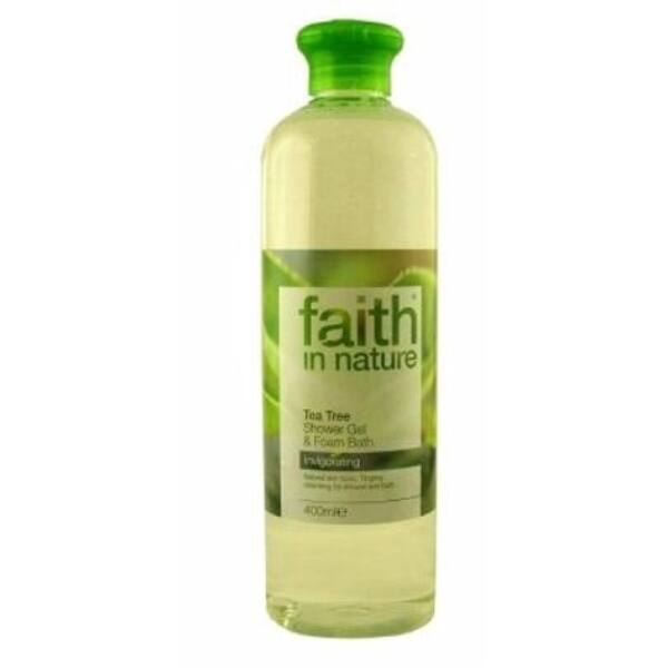 Teafa tusfürdő - Faith in Nature (400 ml)