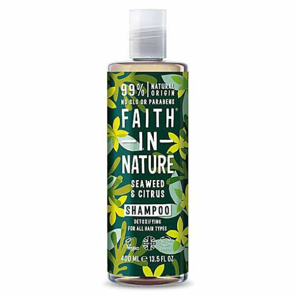 Sampon tengeri hínár - Faith in Nature (400 ml)