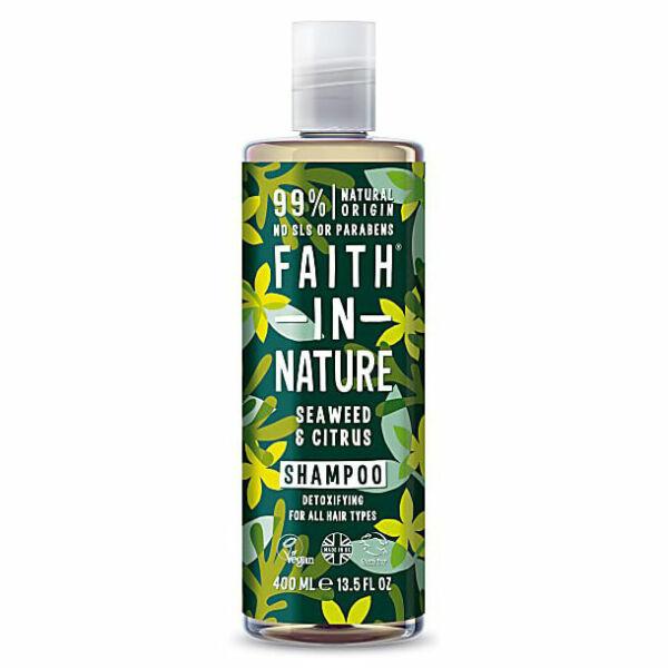 Sampon tengeri hínár - Faith in Nature (400 ml)