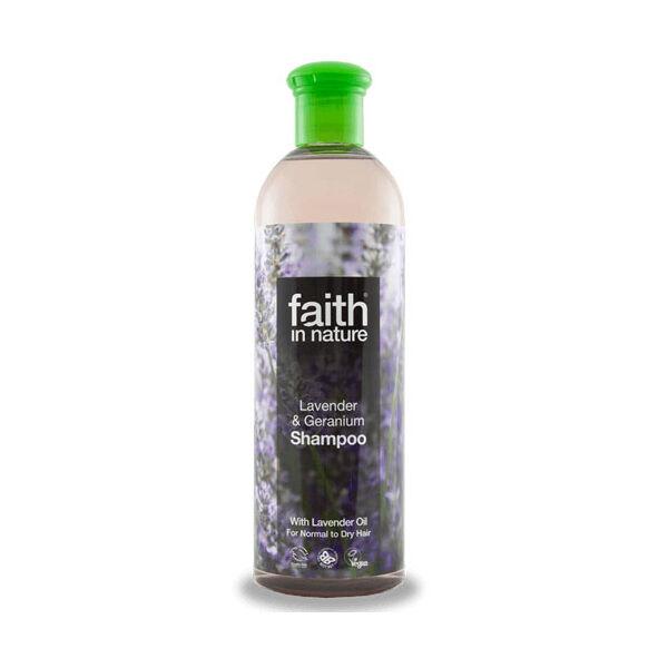 Levendula és geránium sampon - Faith in Nature (250ml)
