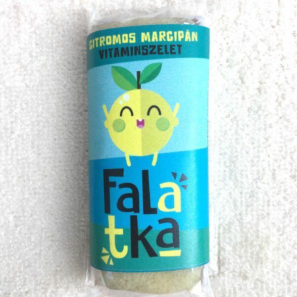 Falatka szelet citromos-marcipános 38-42 g