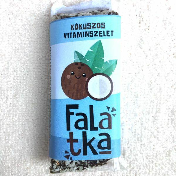 Falatka szelet kókuszos 38-42 g