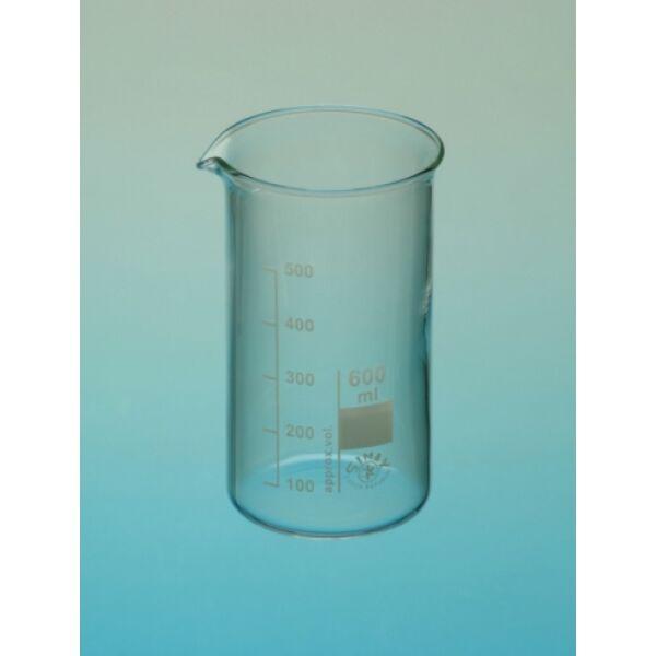 Üveg főzőpohár magas 400 ml