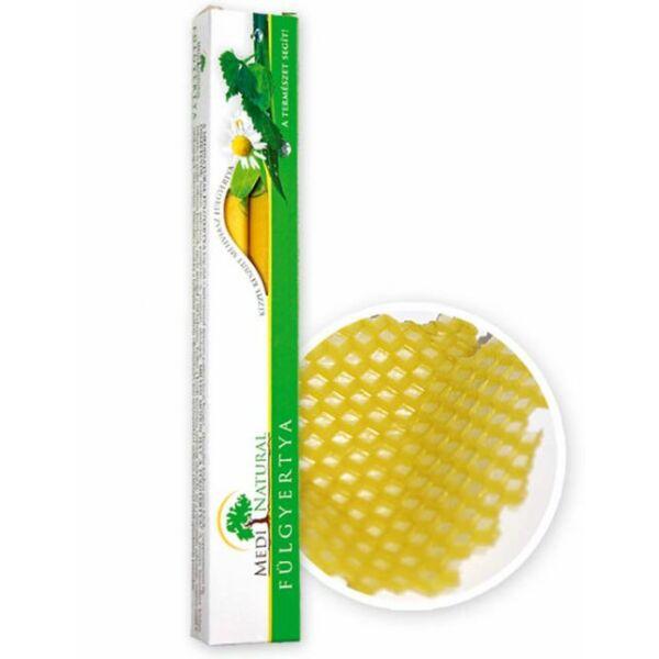 Méhviasz fülgyertya (natúr) 2 db - Medinatural