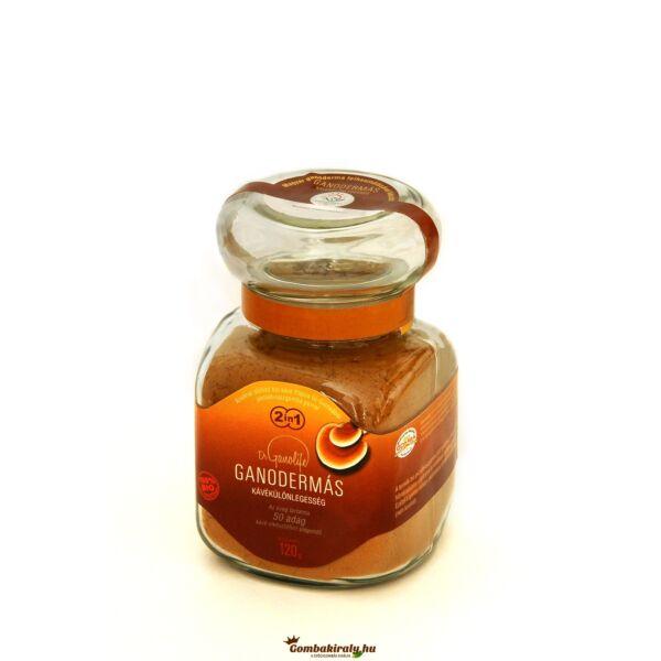 Fülöpjakabi 2 in 1 ganodermás kávékülönlegesség 120 g