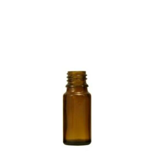 Barna gyógyszertári üveg 10 ml