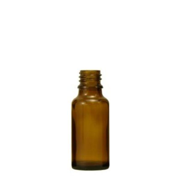 Barna gyógyszertári üveg 20 ml