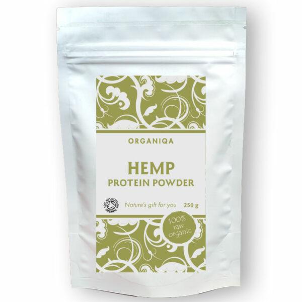 Kendermag fehérje por bio 250 g - Organiqa