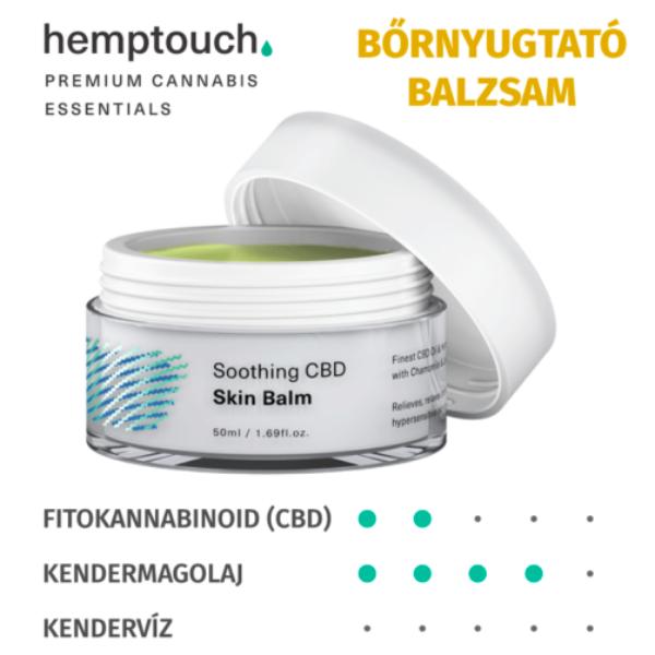 hemptouch Nyugtató (soothing) CBD bőrbalzsam 50 ml