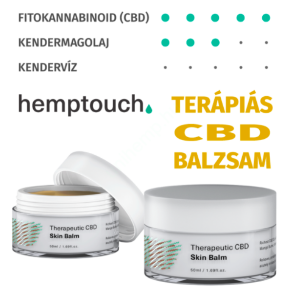 hemptouch Terápiás (therapeutic) CBD bőrbalzsam 50 ml