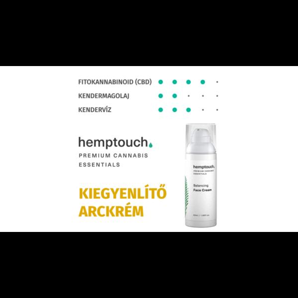hemptouch Kiegyenlítő (balancing) arckrém 50 ml