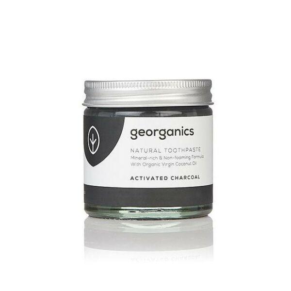 Kókuszolajos fogkrém aktív szénnel 60 ml - Georganics