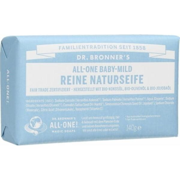 Szilárd szappan illatmentes 140 g - Dr. Bronners
