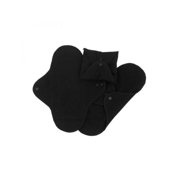 ImseVimse mosható intimbetét 3 db normál fekete