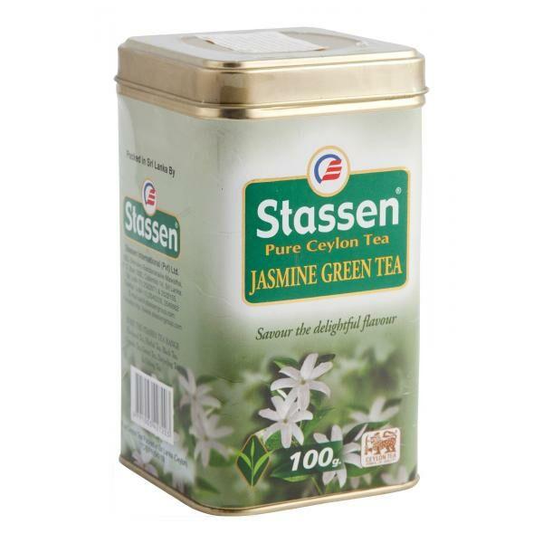 Jázmin tea fémdobozos 100 g - Stassen