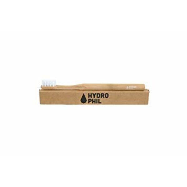Bambusz fogkefe közepes sörtével natúr - Hydrophil